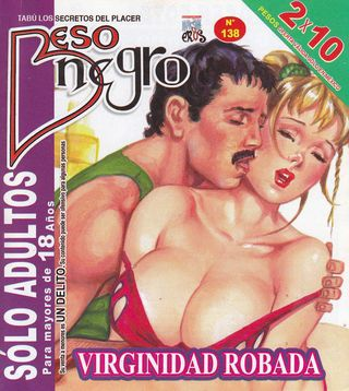 XXX Mexican Comic Beso Negro #138 [Spanish] - Kissing, Full Color Comics Galleries
