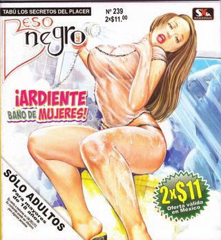 XXX Mexican Comic Beso Negro #239 [Spanish] - Milf, Big Breasts Comics Galleries