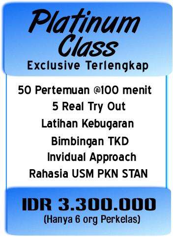 Platinum Class Bimbel STAN