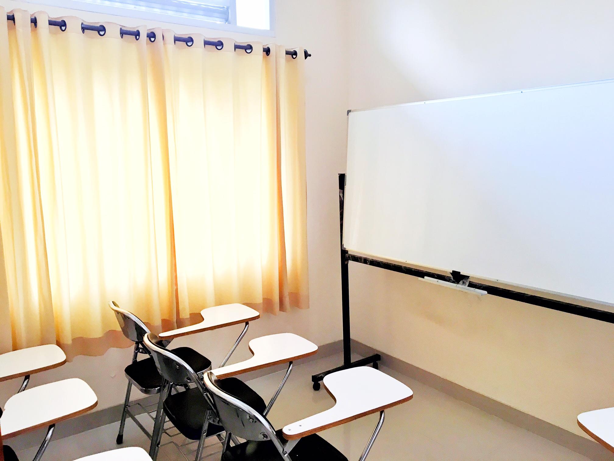 Ruangan Kelas D7 Bimbel STAN