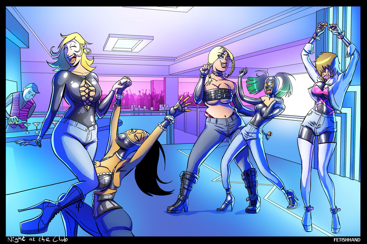 Fetishhand - Latex Couple Comic  2