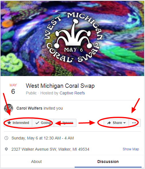 eeazzzzzzzzzzzzzzzzzzzz - West Michigan Coral Swap - May 6, 2018