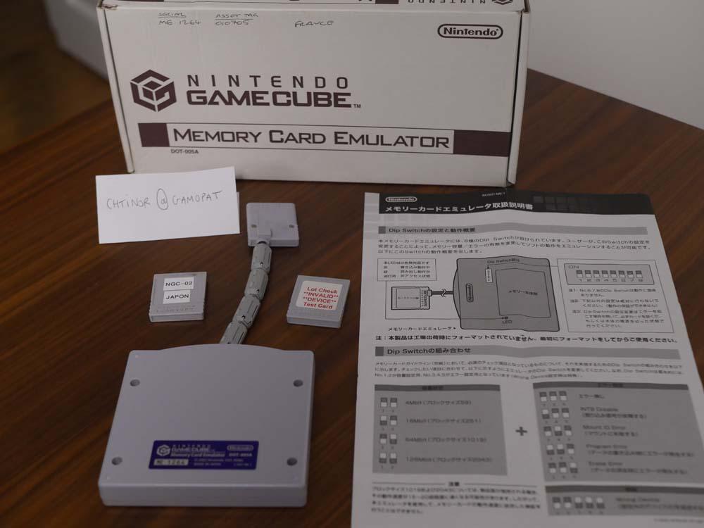 [RARE - DEV] Je vends mon matériel de développement Gamecube P1070909