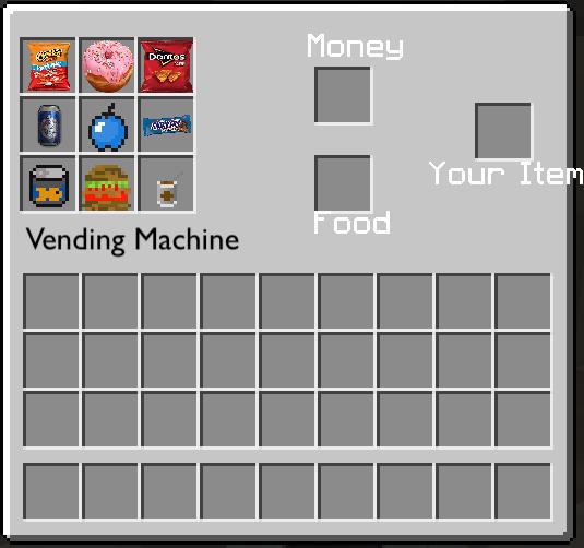 Vending Machine GUI