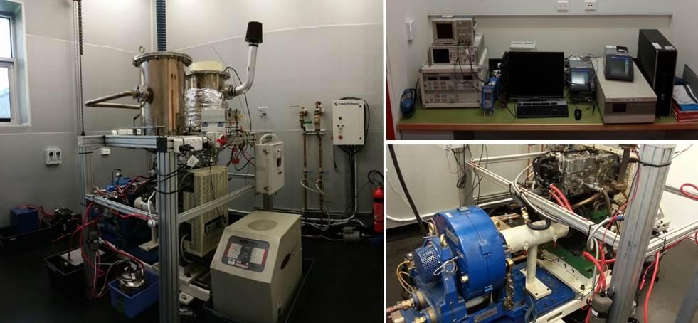 single cylinder performance test CI engine