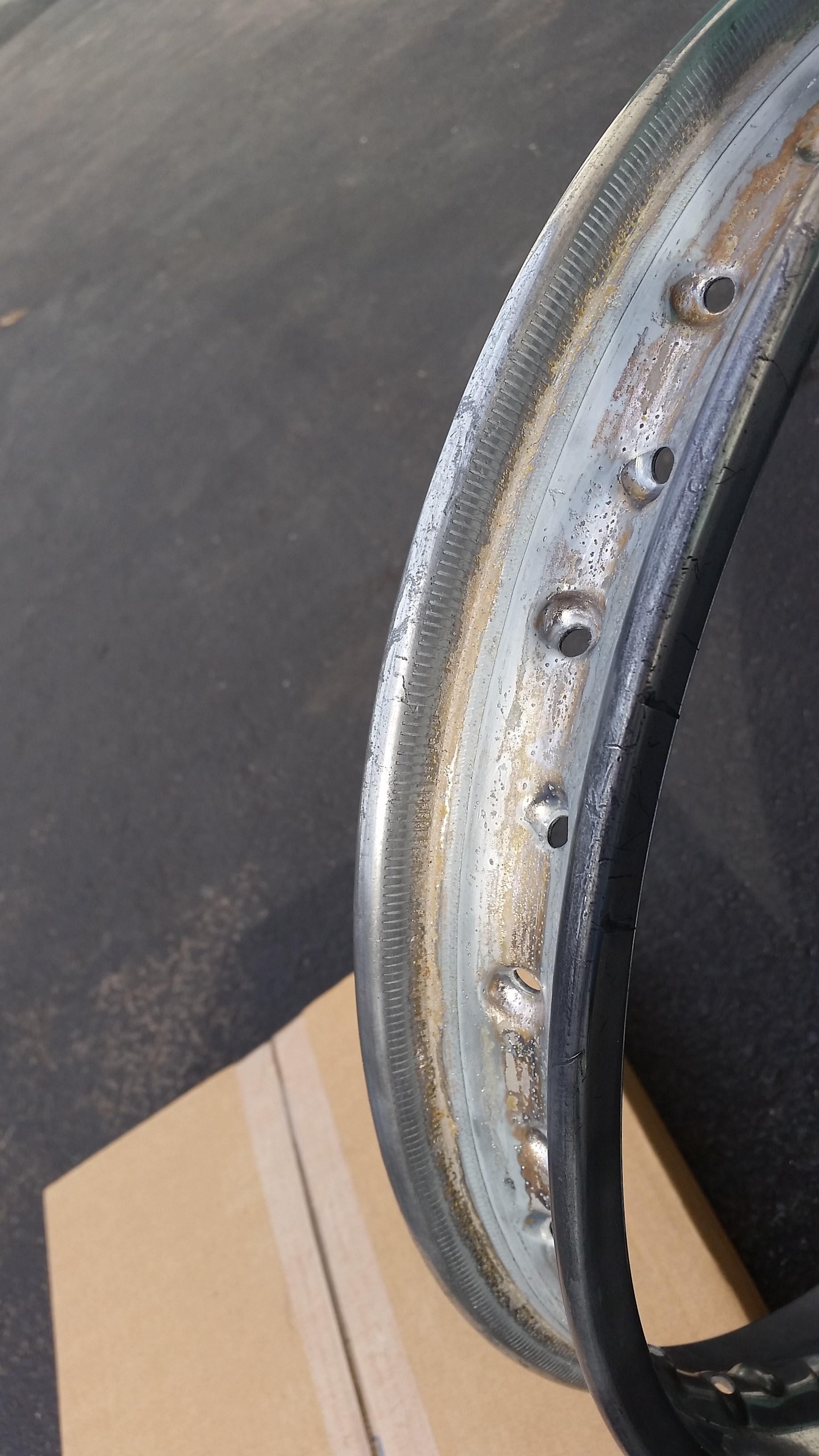 Spoked rims, Rust Removal and DIY Zinc electroplating  - Page 2